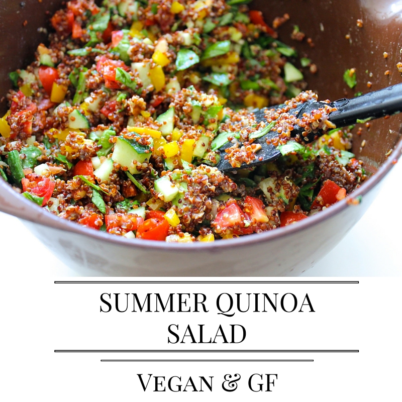 Summer Quinoa Salad - THE PURE LIFE